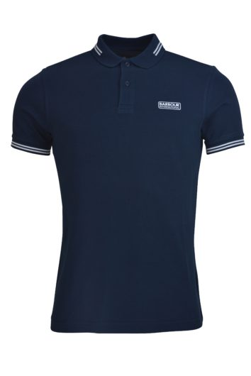 Barbour International - Tipped Polo - Navy