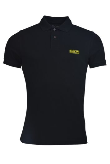 Barbour International - Tipped Polo - Black