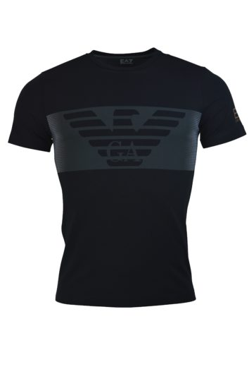 EA7 - 6GPT56 Eagle Tee - Black