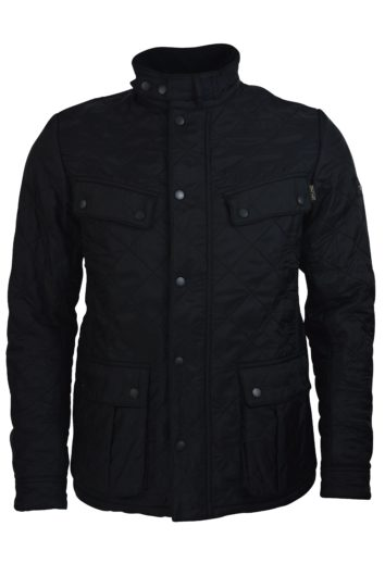 Barbour International - Ariel Polar Quilt Jacket - Black