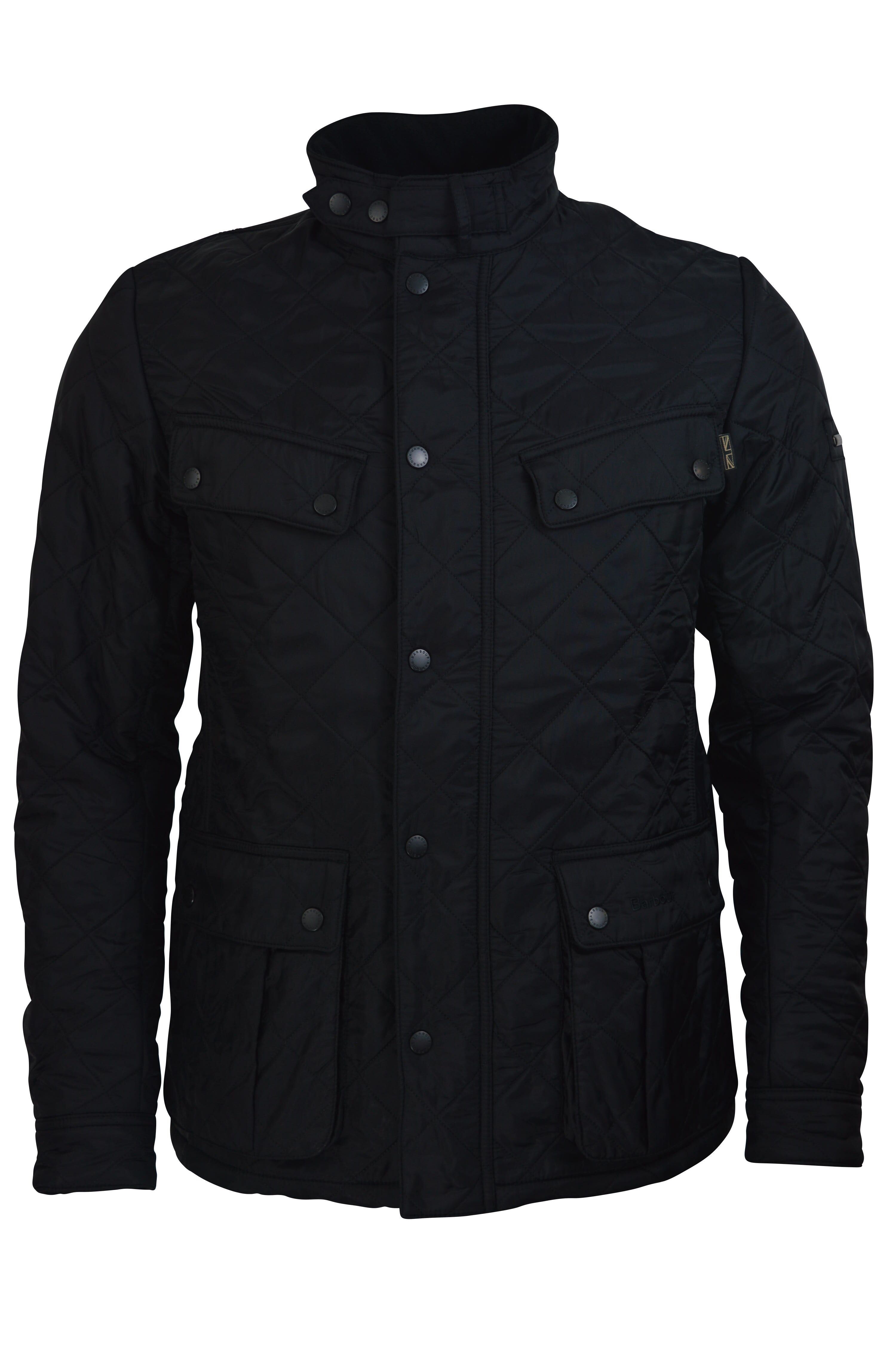 Barbour International – Ariel Polar Quilt Jacket – Black