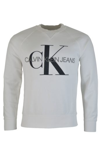 Calvin Klein - 3222 Washed Sweatshirt - White
