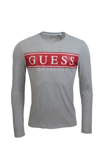 Guess - Banner T-Shirt - Grey