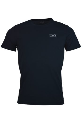 EA7 - 6GPT38 Raised Logo T-Shirt - Black