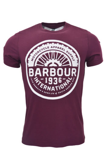 Barbour International - Vintage T-Shirt - Merlot