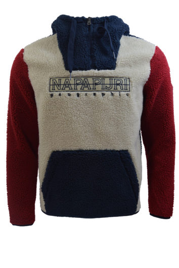 Napapijri - K76 Natural Fuzzy Fleece - Cream