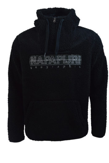 Napapijri - K7G Fuzzy Fleece - Black