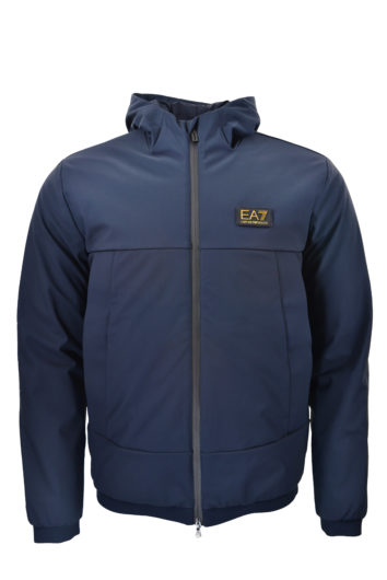 EA7 - 6GPB08 Hooded Jacket - Night Shaddow