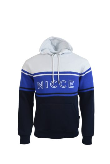 Nicce - Panel Hoodie - White