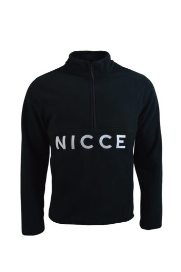 Nicce - Corto Fleece Zip - Black