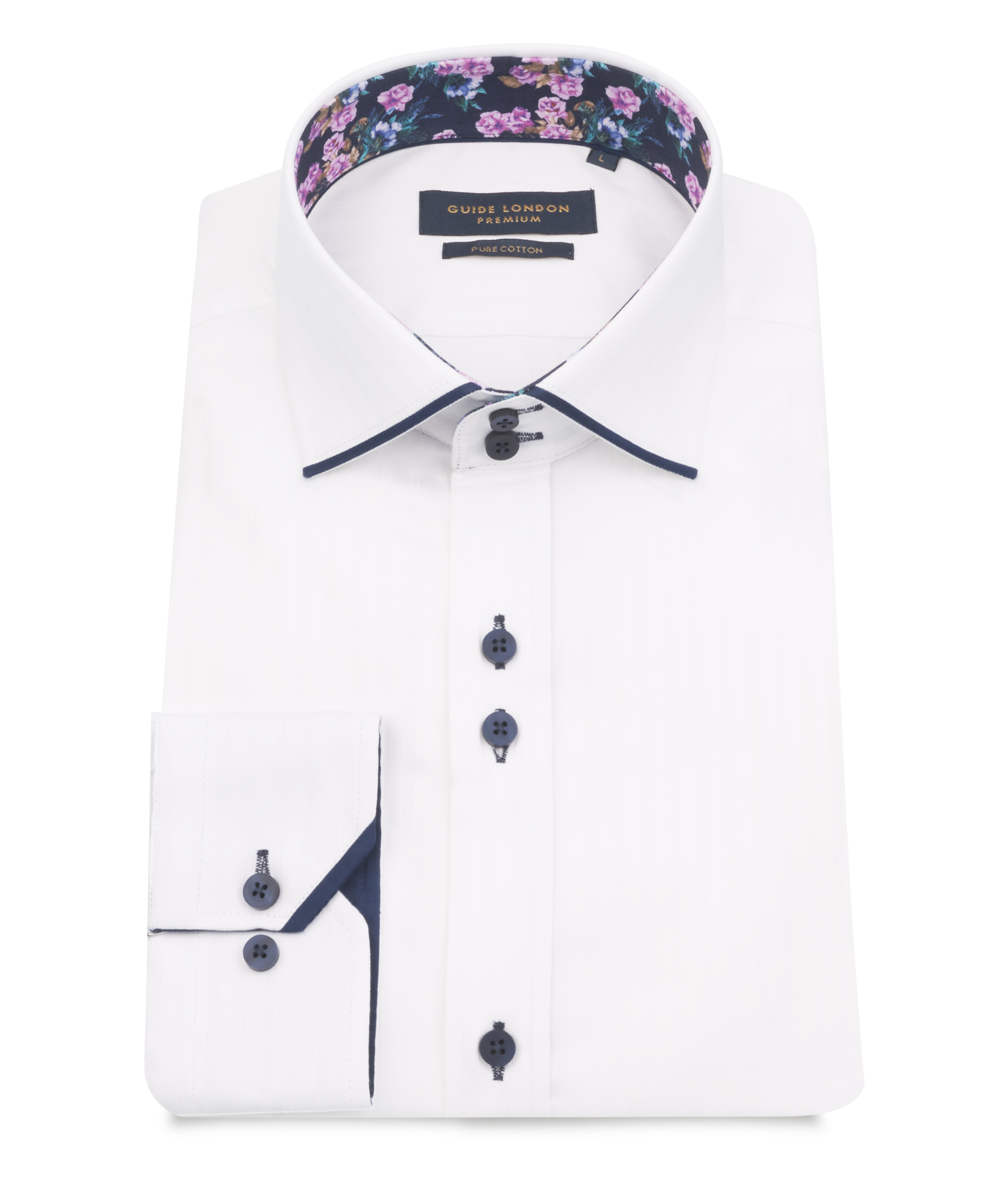 Guide London - LS75126 Shirt - White