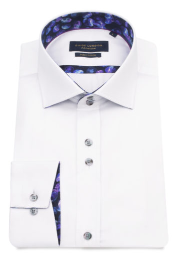 Guide London - LS75303 Shirt - White