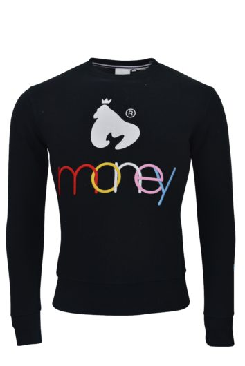 Money Clothing - United Colours of Money Sweatshirt - Black