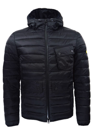 Barbour International - Ouston Hood Jacket - Black