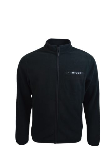 Nicce - Verso Fleece Zip - Black