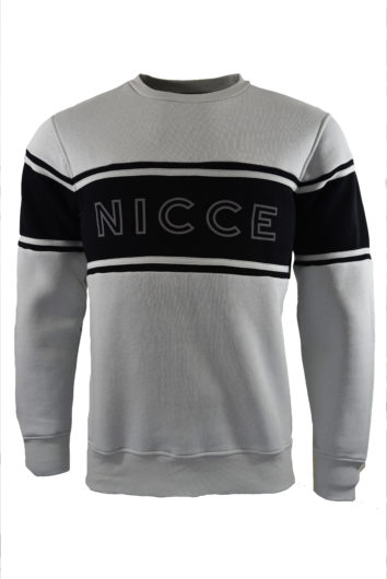 Nicce - Panel Sweat - Grey