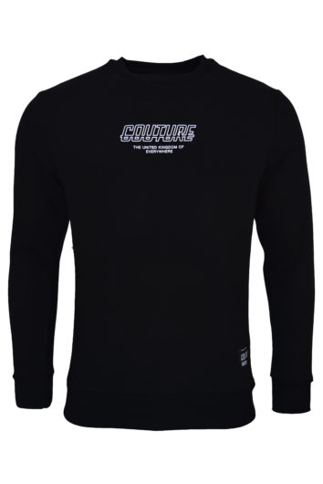 Fresh Couture - Flux Crew Sweat - Black