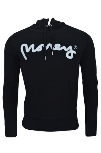 Money Clothing - Signature Ape Hoodie - Black