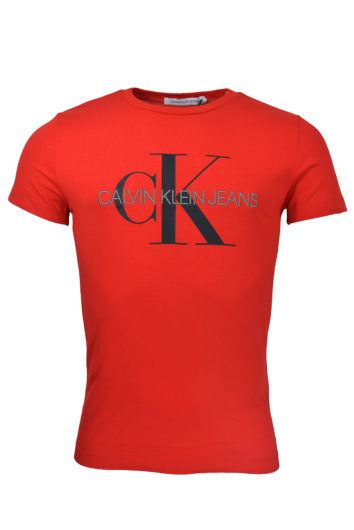 Calvin Klein - Mono Slim T-Shirt - Red