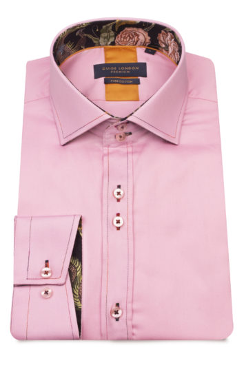Guide London - Long Sleeve Shirt LS75254 - Pink