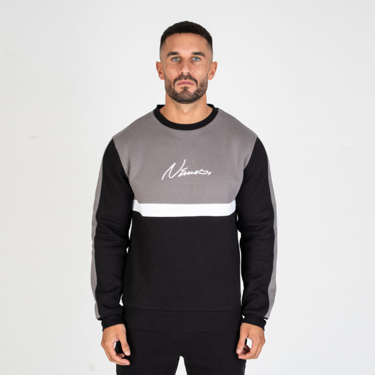 Nimes - Block Colour Sweatshirt - Grey