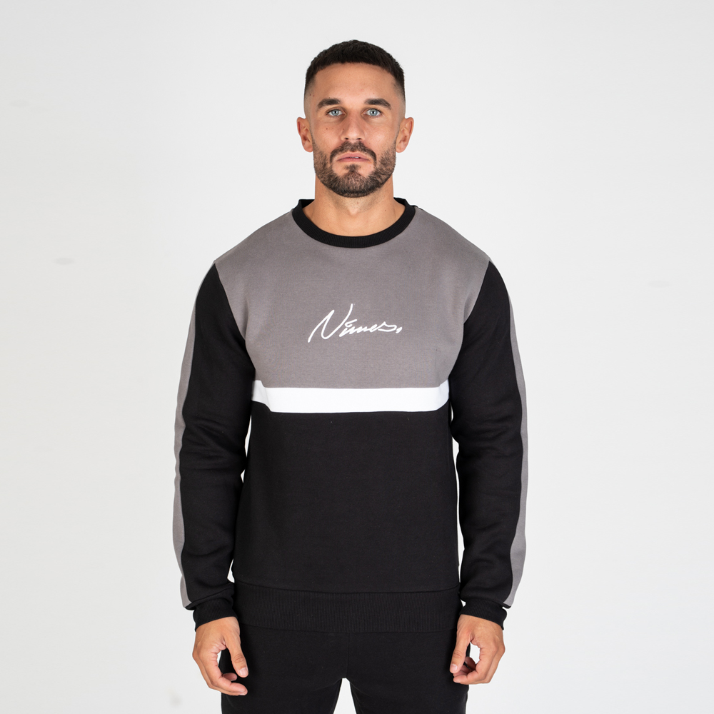 Nimes – Block Colour Sweatshirt – Grey