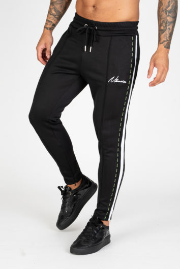 Nimes - Double Tape Track Pant - Black