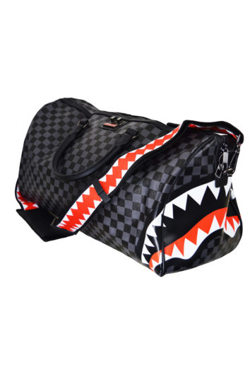 SprayGround - Side Sharks Duffle Bag - Black