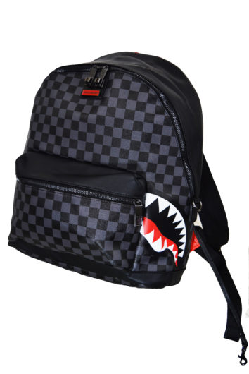 SprayGround - Side Shark Backpack - Black