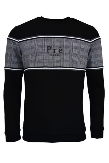 Pre London - College Pow Sweatshirt - Black