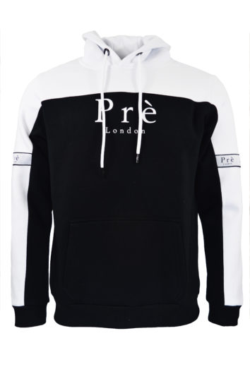 Pre London - Eclipse Hoodie - White/Black