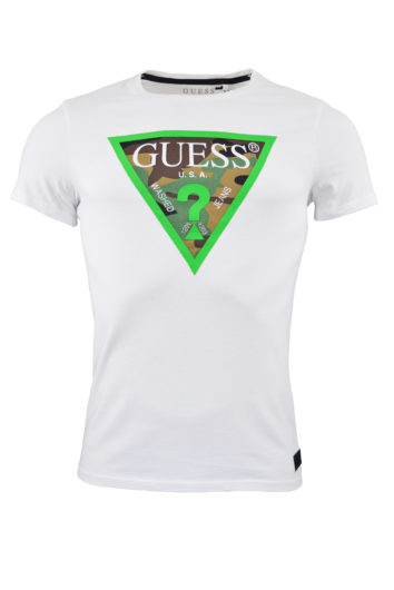 Guess - Camou Pack T-Shirt - White