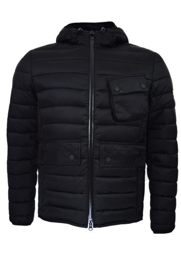 Barbour - Ousten Hooded Jacket - Black