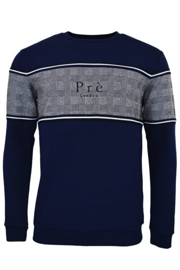 Pre London - College Pow Sweatshirt - Navy