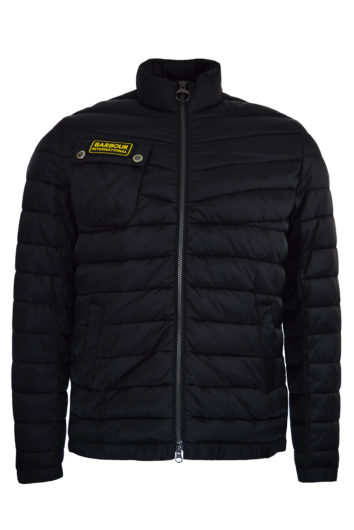 Barbour International - Chain Baffle Jacket - Black