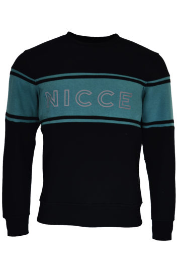 Nicce - Panel Sweatshirt - Black