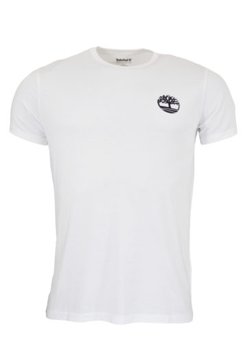 Timberland - 1Y6R Camo Logo T-Shirt - White