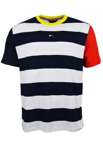 Tommy Hilfiger - 1748 Shoulder T-Shirt - Blue