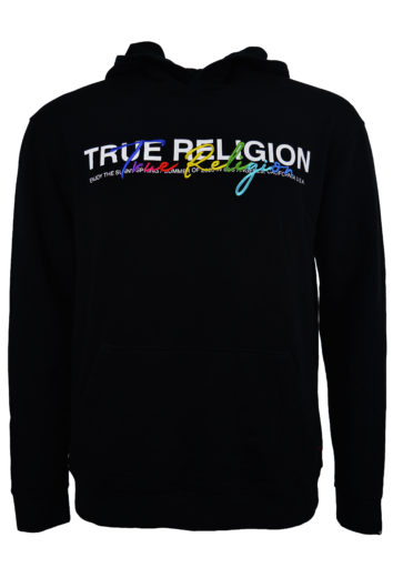True Religion - Embroidery Hoodie - Black