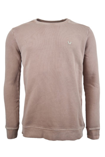True Religion - Small Logo Sweat - Pink