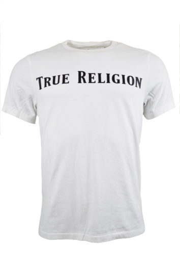 True Religion - Straight Logo T-Shirt - White