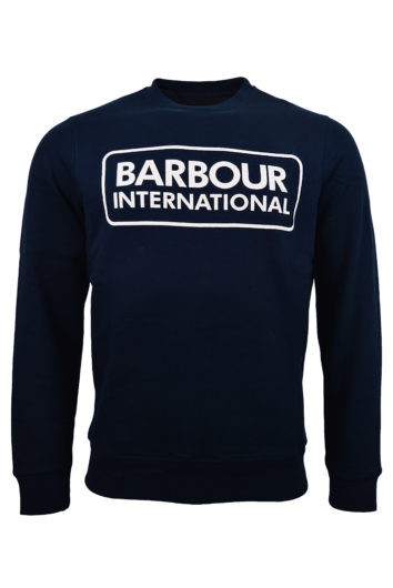 Barbour International - Large Logo Sweatshirt - Navy