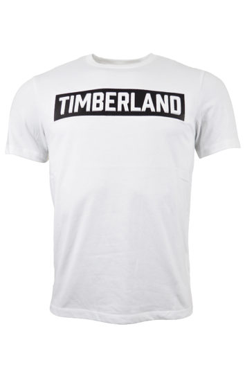 Timberland - 3D Embossed Logo T-Shirt - White