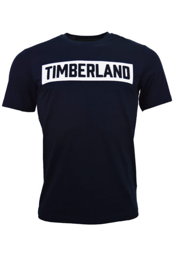 Timberland - 3D Embossed Logo T-Shirt - Navy