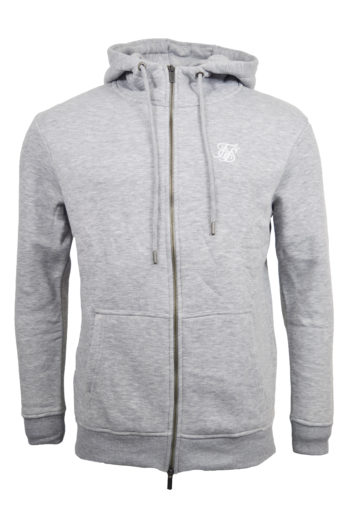 Sik Silk - Zip Through Hoddie - Grey