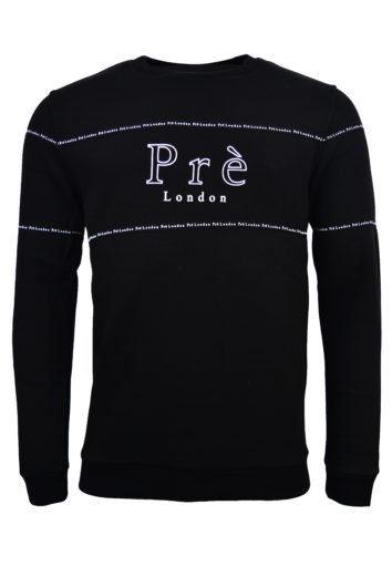 Pre London - Toulouse Sweatshirt - Black