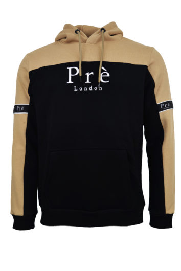 Pre London - Eclipse Hoodie - Black/Stone