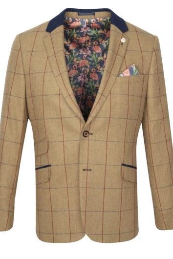 Guide London - JK3367 Blazer - Tan