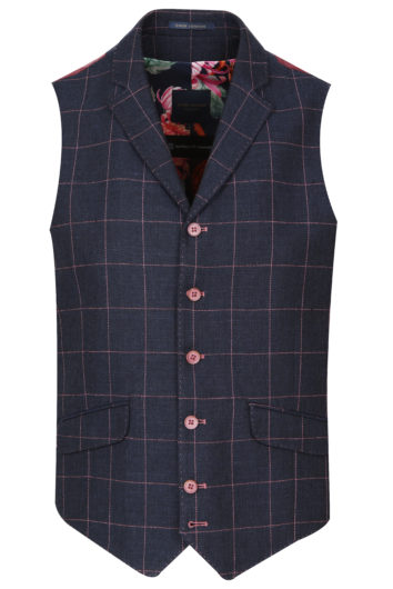 Guide London - WC3392 Waist Coat - Navy