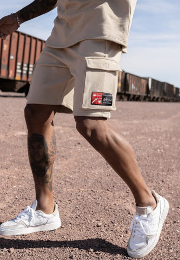 Nimes - Cargo Pocket Shorts - Stone